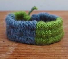 hand woven bracelet