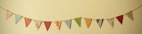 Patterned Paper Bunting