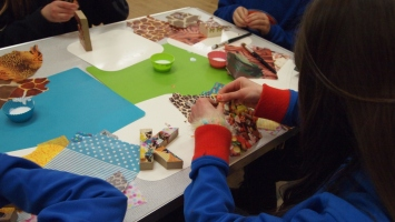 Arts and Crafts Session - Decoupage