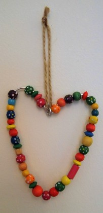 wire bead hearts