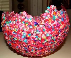 fantastic confetti bowl!