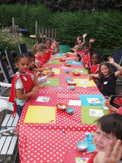 summer arty party