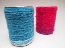 wool wrapped pots