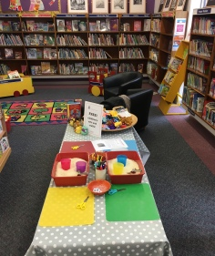 making book buddies at Stocksbridge Library!