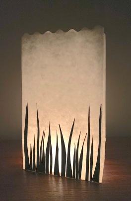 silhouette lantern