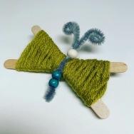 yarn butterfly