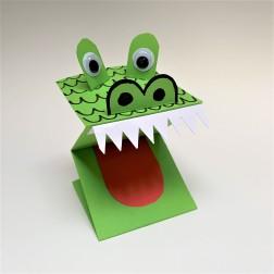 crocodile puppet
